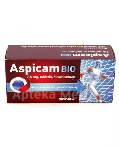 ASPICAM BIO 7,5 mg - 20 tabl. - Apteka internetowa Melissa