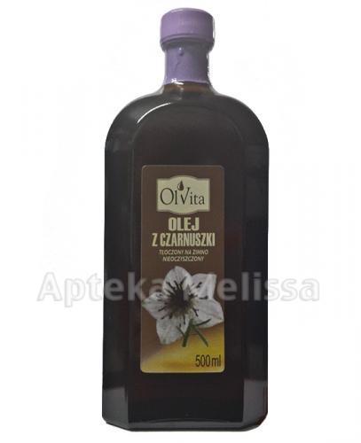 OLVITA Olej z czarnuszki - 500 ml - Apteka internetowa Melissa