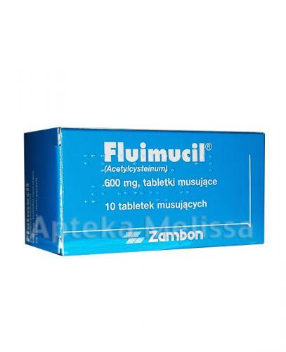 FLUIMUCIL 600 mg - 10 tabl.
