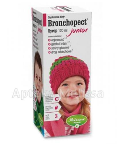 Bronchopect junior syrop - 120ml - Apteka internetowa Melissa