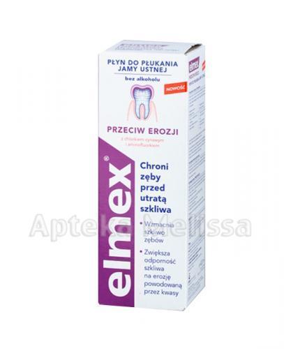 ELMEX Płyn do płukania jamy ustnej przeciw erozji - 400 ml - Apteka internetowa Melissa