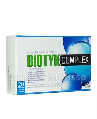 BIOTYK Complex - 20 tabl. - Apteka internetowa Melissa