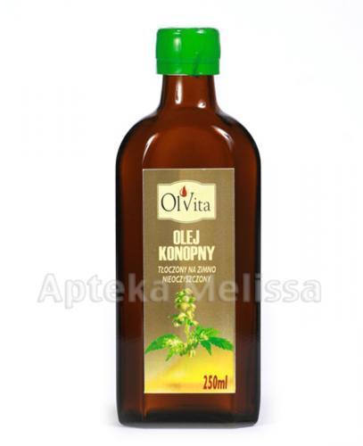 OLVITA Olej konopny - 250 ml - Apteka internetowa Melissa