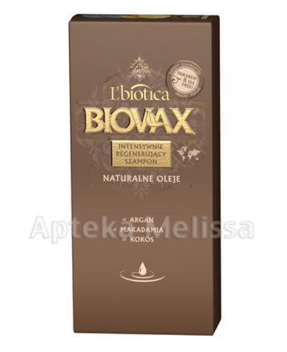 BIOVAX NATURALNE OLEJE Intensywnie regenerujący szampon -  400 ml - Apteka internetowa Melissa