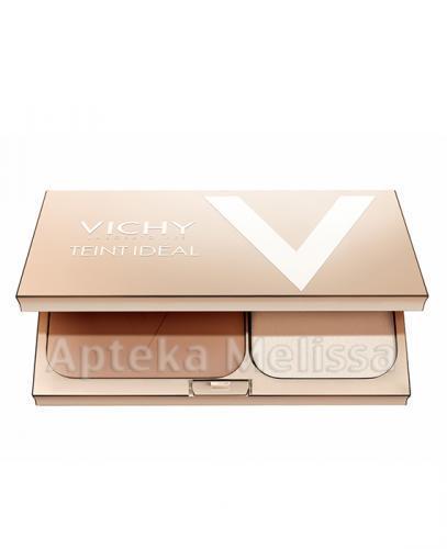 VICHY TEINT IDEAL COMPACT 2 MEDIUM Podkład w pudrze - 9,5 g + Kosmetyczka z czterema próbkami VICHY