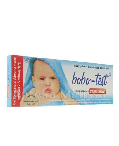 BOBO Test ciążowy strumieniowy - 1 szt. - Apteka internetowa Melissa
