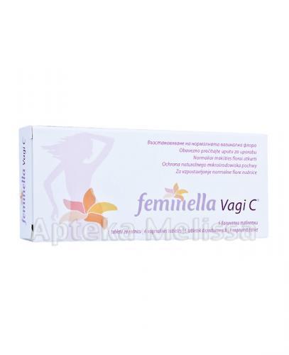 FEMINELLA VAGI C 250 mg - 6 tabl. dop. - Apteka internetowa Melissa