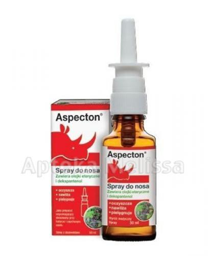 ASPECTON Spray do nosa - 30 ml - Apteka internetowa Melissa