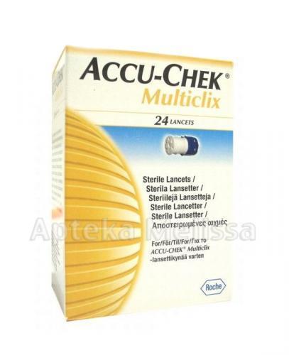 ACCU-CHEK MULTICLIX Lancety - 24 szt.