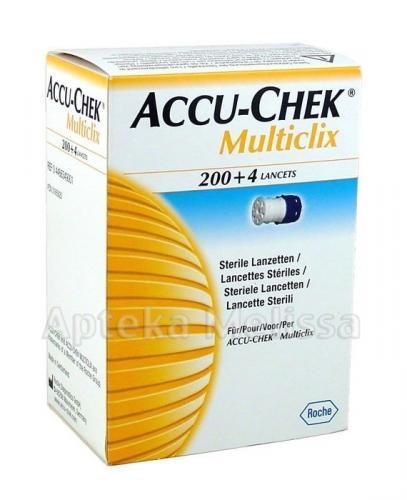 ACCU-CHEK MULTICLIX Lancety - 204 sztuk