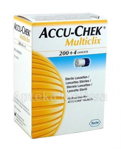 ACCU-CHEK MULTICLIX Lancety - 204 sztuk - Apteka internetowa Melissa