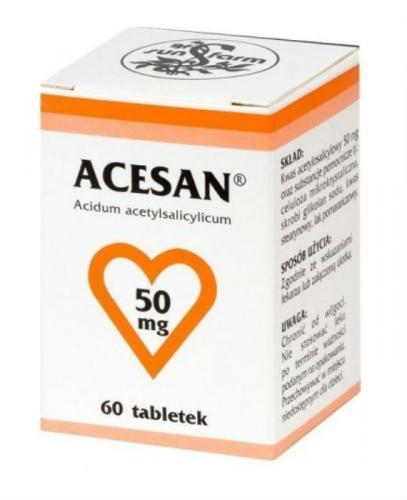 ACESAN 50 mg - 60 tabl. - Apteka internetowa Melissa