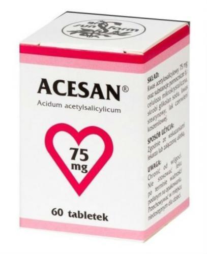 ACESAN 75 mg, - 60 tabl. - Apteka internetowa Melissa