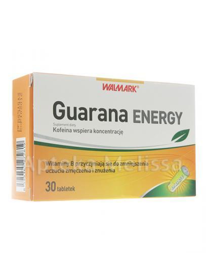 WALMARK GUARANA ENERGY - 30 tabl. - Apteka internetowa Melissa