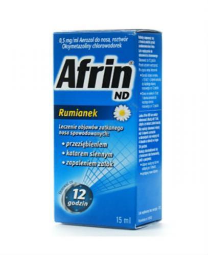 AFRIN ND Rumianek areozol do nosa 0,5 mg/ml - 15 ml  - Apteka internetowa Melissa