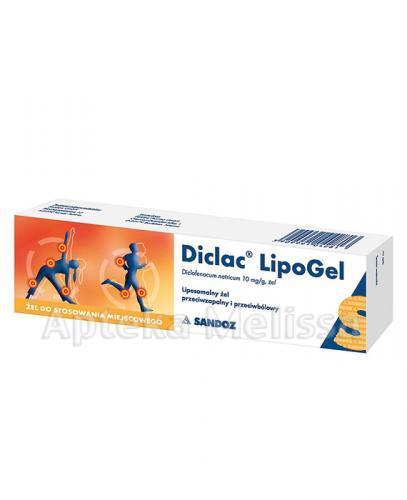 DICLAC LIPOGEL Żel - 100 g - Apteka internetowa Melissa