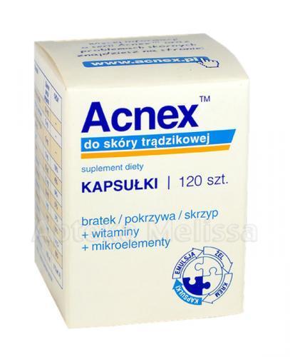 ACNEX - 120 kaps. - Apteka internetowa Melissa