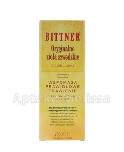 BITTNER Oryginalne zioła szwedzkie - 250 ml Data ważności: 2016.11.17