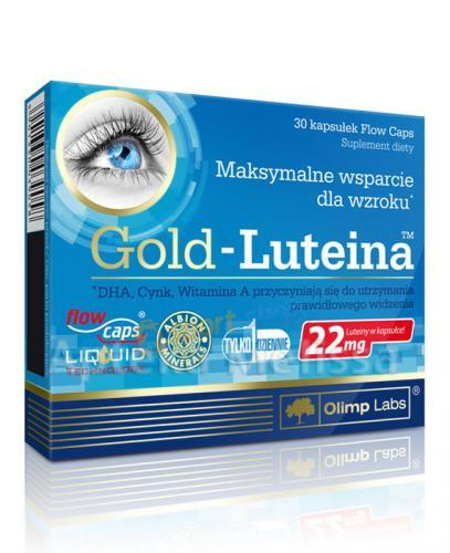 OLIMP GOLD-LUTEINA Maksymalne wsparcie dla wzroku - 30 kaps.