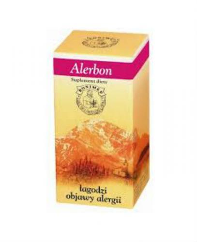 ALERBON Wspomaga organizm w alergii - 60 kaps.