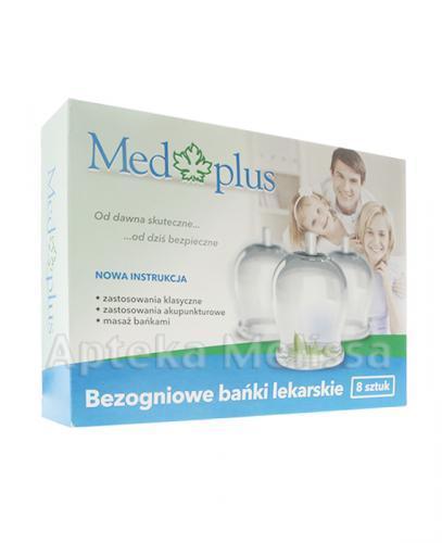MED PLUS Bezogniowe bańki lekarskie - 8 szt. - Apteka internetowa Melissa