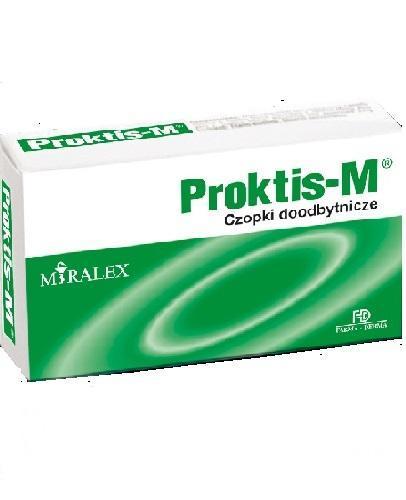 PROKTIS-M Czopki doodbytnicze - 10 szt. - Drogeria Melissa
