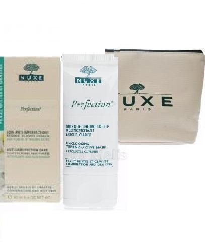 NUXE PERFECTION Emulsja przeciw niedoskonałościom skóry - 40 ml + NUXE PERFECTION Termoaktywna maseczka - 40 ml  - Apteka internetowa Melissa
