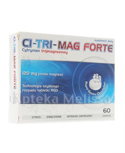 CI-TRI-MAG FORTE - 60 kaps. - Apteka internetowa Melissa