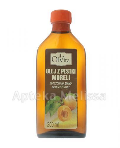 OLVITA Olej z pestki moreli tłoczony na zimno - 250 ml - Apteka internetowa Melissa