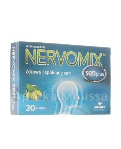 NERVOMIX SEN PLUS - 20 kaps. - Apteka internetowa Melissa