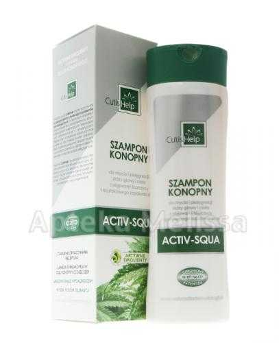 CUTISHELP Szampon konopny activ-squa - 200 ml