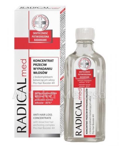 IDEEPHARM RADICAL MED Koncentrat przeciw wypadaniu włosów - 100 ml + RADICAL MED Szampon przeciw wypadaniu włosów - 50 ml - Apteka internetowa Melissa
