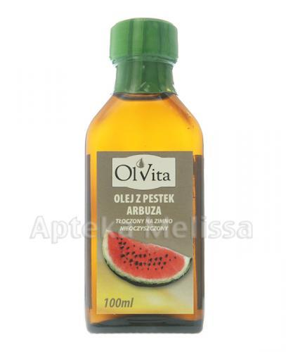 OLVITA Olej z pestek arbuza - 100 ml - Apteka internetowa Melissa