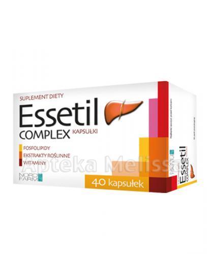 ESSETIL COMPLEX - 40 kaps. - Apteka internetowa Melissa