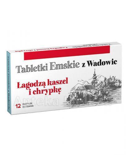 TABLETKI EMSKIE Z WADOWIC - 12 past. - Apteka internetowa Melissa