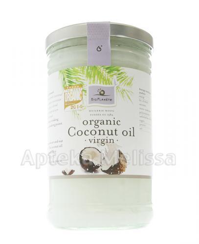BIO PLANETE Olej kokosowy EXTRA VIRGIN - 1 l - Apteka internetowa Melissa