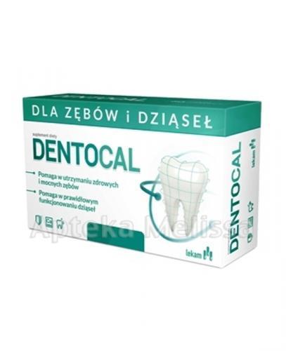 DENTOCAL Dla zębów i dziąseł - 120 tabl.  - Apteka internetowa Melissa