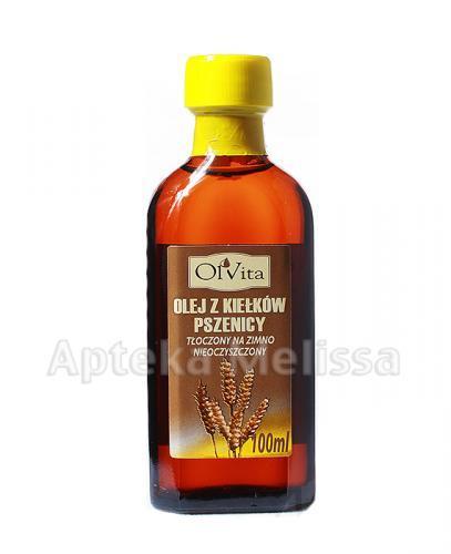 OLVITA Olej z kiełków pszenicy - 100 ml  - Apteka internetowa Melissa