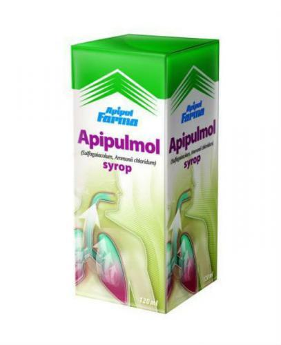 APIPULMOL Syrop - 120 ml - Apteka internetowa Melissa