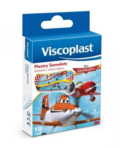 VISCOPLAST Plastry dla dzieci samoloty - 10 szt. - Apteka internetowa Melissa