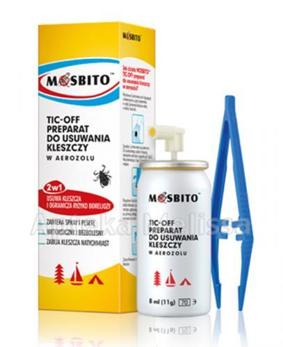 MOSBITO TIC-OFF Preparat do usuwania kleszczy - 8 ml - Apteka internetowa Melissa