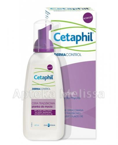 CETAPHIL DERMACONTROL Pianka do mycia - 237 ml  - Apteka internetowa Melissa