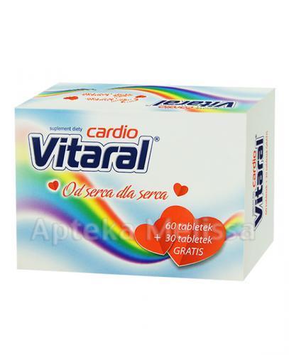 VITARAL CARDIO - 60 tabl. + 30 tabl. GRATIS! - Apteka internetowa Melissa