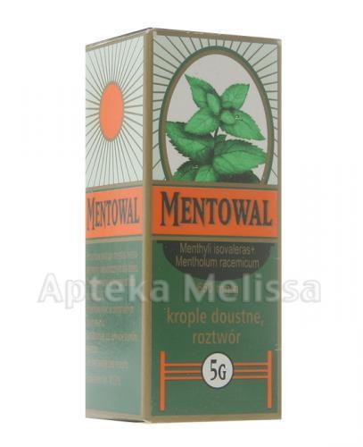 MENTOWAL - 5 g - Apteka internetowa Melissa