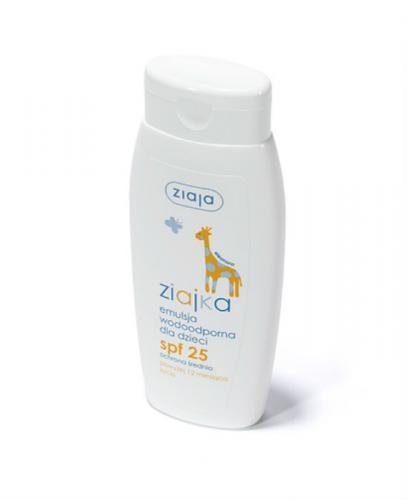 ZIAJKA Emulsja wodoodporna dla dzieci SPF 25 - 150 ml - Apteka internetowa Melissa
