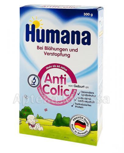 HUMANA ANTICOLIC Mleko modyfikowane w proszku przy wzdęciach, zaparciach i kolkach - 300 g - Apteka internetowa Melissa