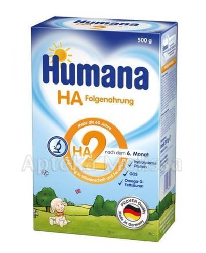 HUMANA HA 2 Mleko modyfikowane w proszku - 500 g  - Apteka internetowa Melissa
