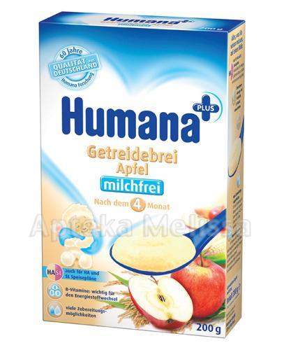 HUMANA Kaszka bezmleczna HA/SL ryżowo-kukurydziana z jabłkami - 200 g - Apteka internetowa Melissa