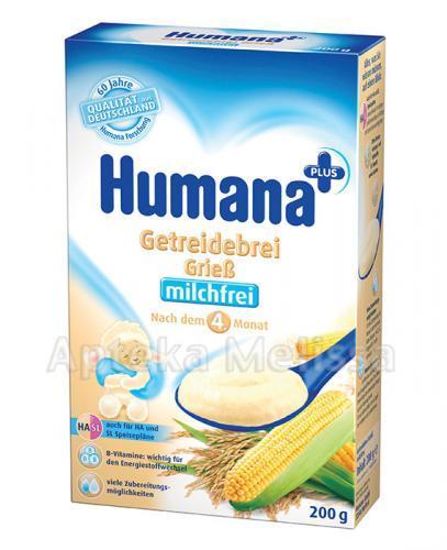 HUMANA Kaszka bezmleczna HA/SL ryżowo-kukurydziana - 200 g - Apteka internetowa Melissa