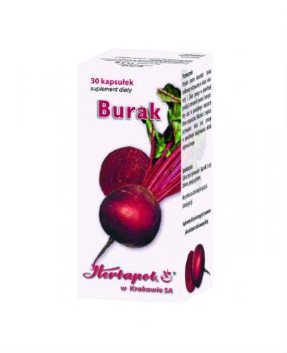 BURAK Herbapol - 30 kaps. - Apteka internetowa Melissa